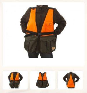 TILAUSTUOTE! Metsästysliivi, Firedog Hunting vest